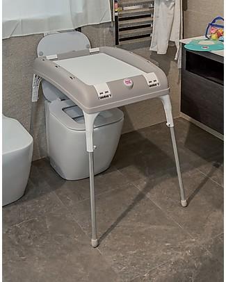 OKbaby Cavalletto per Vaschetta Baby Laguna/Onda/Onda Evolution - Include Tubo di Scarico! Vaschette