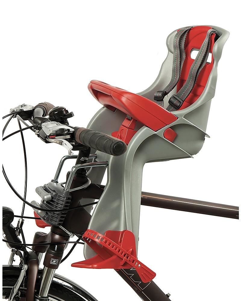 58c95e0f57 OKbaby Seggiolino Anteriore Bici Orion - Dai 7 mesi, Comodo e Sicuro!  Biciclette