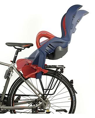 OKbaby Seggiolino Posteriore Bici 10+, Seduta Reclinabile con Automatic Barycenter System! Biciclette
