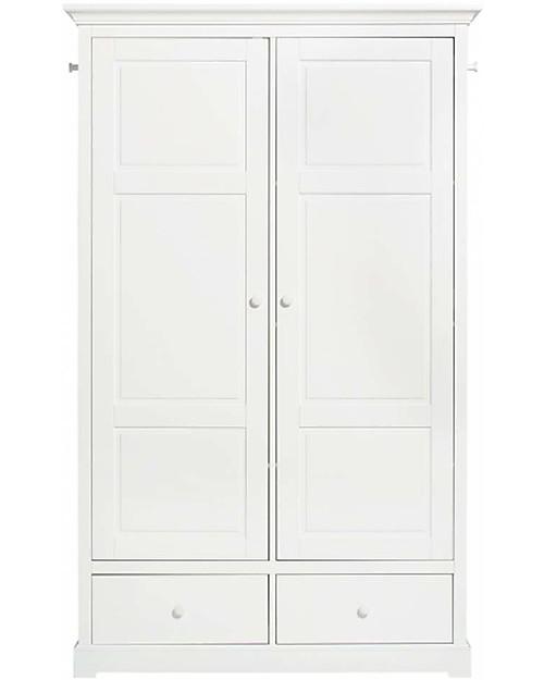 Armadio Bianco Per Cameretta.Oliver Furniture Armadio Due Ante Bianco Perfetto Per La
