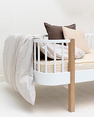 Oliver Furniture Letto-divano in Legno linea Wood, Naturale, 90x200 cm - Struttura modulare e trasformabile Letti Singoli