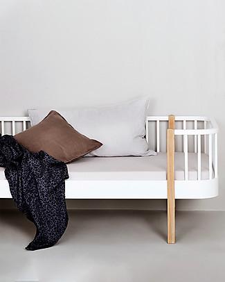 Oliver Furniture Letto Junior linea Wood, Quercia, 90x160 cm - Struttura modulare e trasformabile Letti Singoli