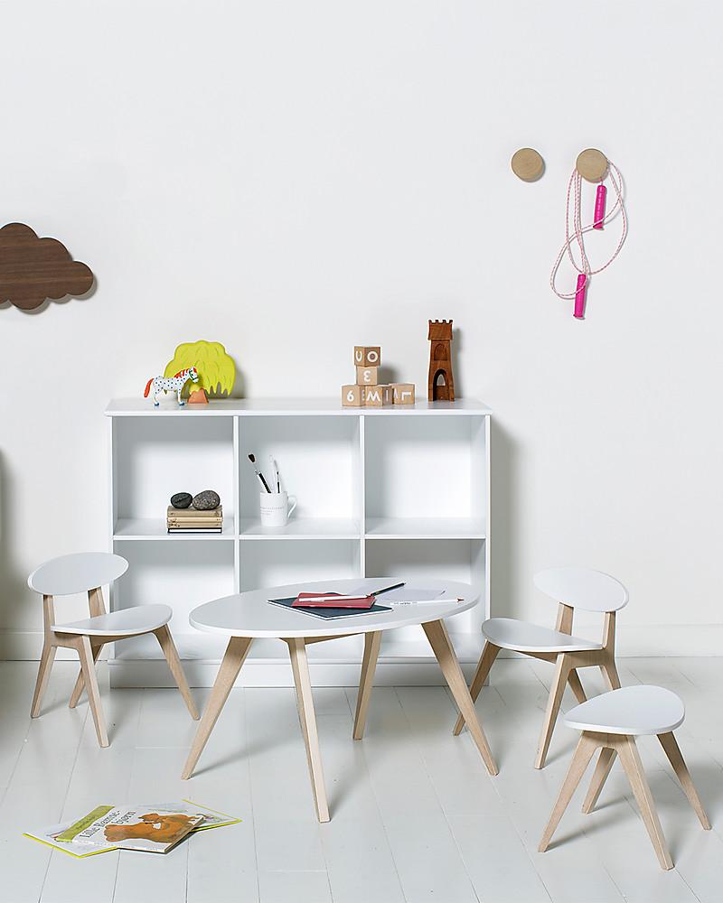 Oliver Furniture Sedia per Bambini, linea Ping Pong, Quercia ...
