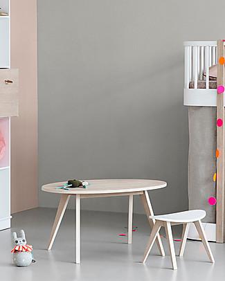 Oliver Furniture Tavolino per Bambini, linea Ping Pong, Quercia Tavoli