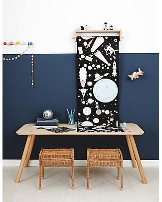 Olli Ella Poster da Colorare, Spazio - Rotolo Lungo 8 metri! Colorare