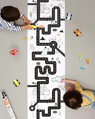 Olli Ella Poster da Colorare, Strada - Rotolo Lungo 8 metri! Colorare