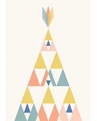 Olli Ella Poster per Cameretta, Mesa – Formato A4 Posters