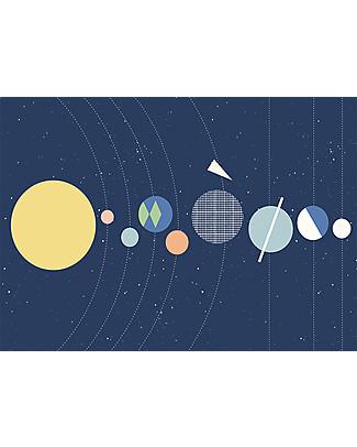 Olli Ella Poster per Cameretta Sistema Solare– Formato 50 x 70 cm! Posters