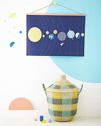 Olli Ella Solar System Nursery Wall Art– 50 x 70 cm! Posters