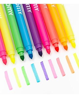 Omy Pennarelli Neon - Set da 9 Colorare