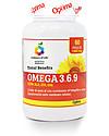 Optima Naturals Omega 3.6.9 Total Benefits, 60 perle - Protegge la Cellula dallo Stress Ossidativo Integratori alimentari