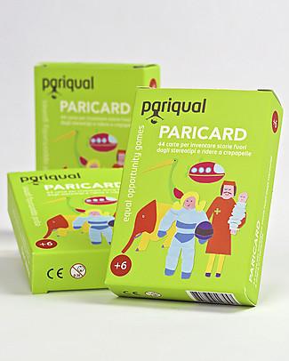 Pariqual Paricard - Carte-Gioco per Inventare Storie fuori dagli Stereotipi - Disegnate e prodotte in Italia Giochi Per Inventare Storie