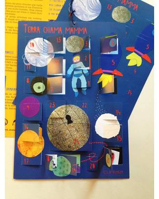 Pariqual Terra Chiama Mamma - Calendario dell'avvento per un Natale fuori dagli Stereotipi - Disegnato e prodotto in Italia Calendari Dell'Avvento