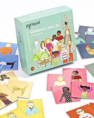 Pariqual Wonderful Families, Gioco Memory – Nove famiglie tutte da scoprire! Giochi Per Inventare Storie