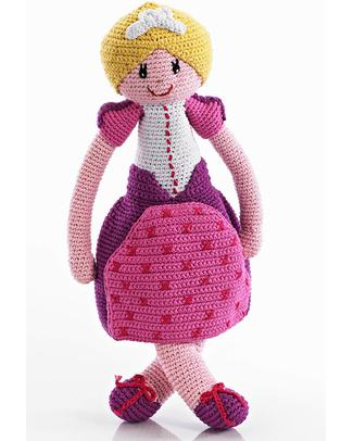 Pebble C'era Una Volta - Principessa - Fair Trade - Altezza 35 cm Peluche