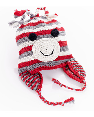 Pebble Cappellino Paraorecchie Scimmietta - Fair Trade Cappelli