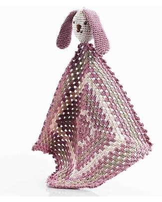 Pebble Doudou Coniglietto - Rosa - Cotone Bio Doudou