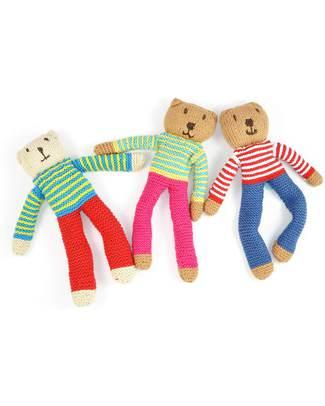 Pebble Pupazzo Flipps - Nancy (Fucsia) - Fair Trade Pupazzi Crochet
