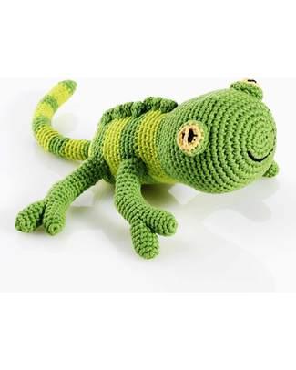 Pebble Pupazzo Geco - Fair Trade - Lunghezza 32 cm Pupazzi Crochet