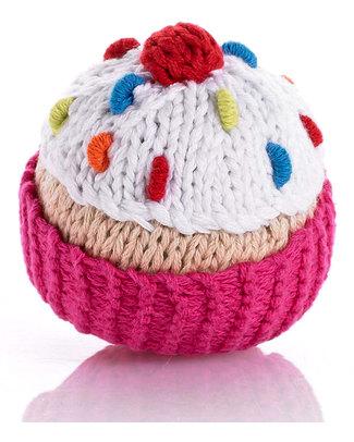 Pebble Sonagli Cupcake Panna - Rosa - 8 cm Sonagli