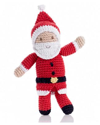 Pebble Sonaglio Babbo Natale - Fair Trade (altezza 20 cm circa) Sonagli