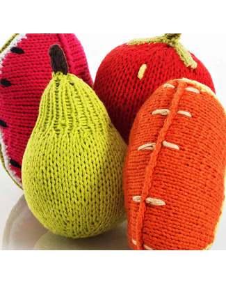 Pebble Sonaglio Frutta - Spicchio di Arancia - Fair Trade Sonagli