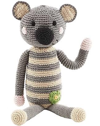 Pebble Sonaglio Koala Grande - 30 cm di altezza, 100% cotone bio Sonagli