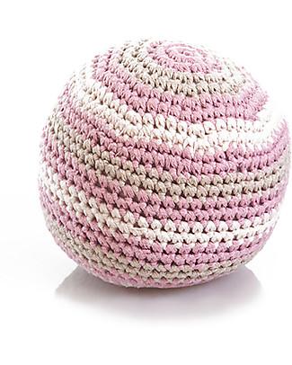 Pebble Sonaglio Pallina Rosa - 100% Cotone Bio Sonagli