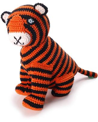Pebble Tigre del Bengala (Altezza 20 cm) Pupazzi Crochet