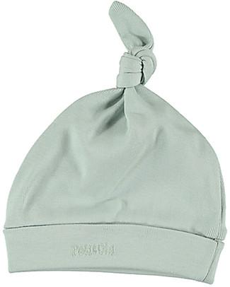 Petit Oh! Cappello con Nodo Bruc, Acqua - Cotone Pima Cappelli