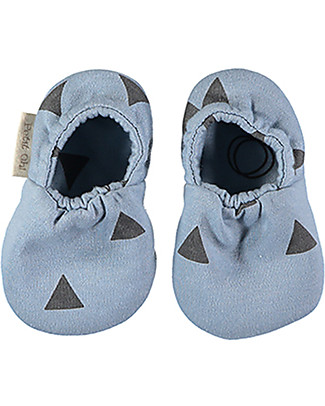 Petit Oh! Kai Reversible Shoes, Pinos Ice - Pima Cotton Shoes