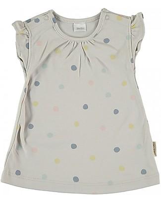 Petit Oh! T-Shirt Bimba Estel, Party - 100% Cotone Pima T-Shirt e Canotte