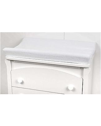 Picci Coprifasciatoio in Spugna 50 x 80 cm, Bianco - 100% cotone Coprifasciatoi e Imbottiture