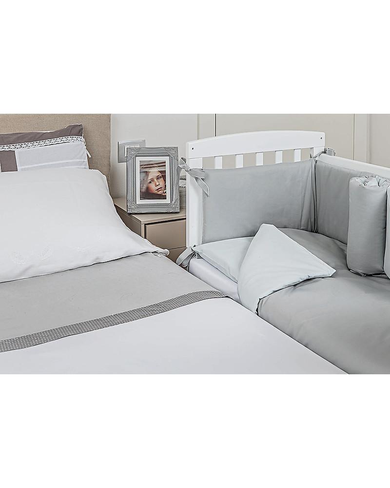 Comodino da attaccare al letto design del - Culla da attaccare al letto ...