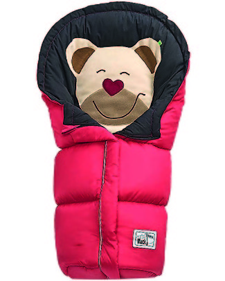 Picci Mucki Big, Rosso - Sacco invernale universale per passeggino Sacchi Passeggino