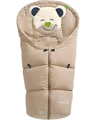 Picci Mucki Small con Clip, Beige - Sacco invernale universale per carrozzina e ovetto Sacchi Passeggino