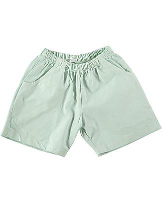 Picnik Bermuda La vie en, Menta - 100% Cotone Pantaloni Corti