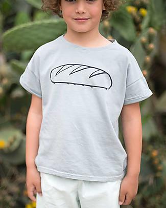Picnik T-Shirt Formichine e Pane - Unisex, 100% cotone T-Shirt e Canotte
