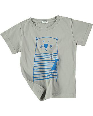 Picnik T-Shirt Gatto - Unisex, 100% cotone T-Shirt e Canotte