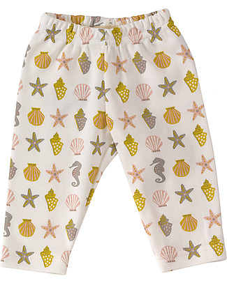 Pigeon - Organics for Kids Leggings Cavalluccio Marino - Cotone Bio 100% Leggings