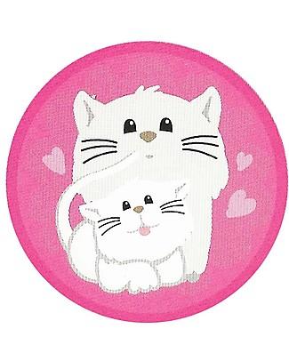 Pipiyo Sticker Magico per Togliere il Pannolino, Gattino - Dura oltre 1000 pipì! Vasini