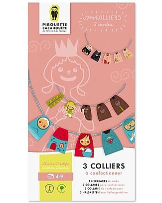 Pirouette Cacahouète Le Mie Collane da Favola - Collane in carta riciclata Carta e Cartone