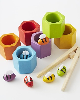 PlanToys Bee Hive, l'Alveare - Educativo e Divertente! Giochi Creativi
