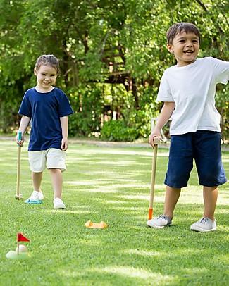PlanToys Gioco del Mini Golf per Bambini, Set Completo - Per 2 Giocatori Giochi all'Aperto
