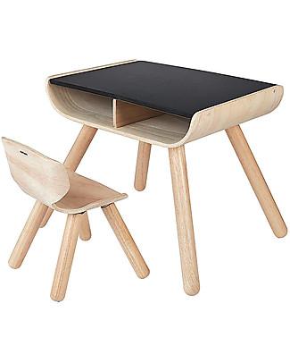 PlanToys Sedia Bimbi in Legno, 3-6 anni - Design ed ecologia! Sedie
