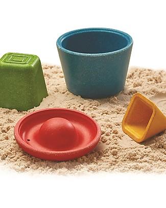 PlanToys Set da Spiaggia: 4 Formine Differenti! Giochi Da Spiaggia