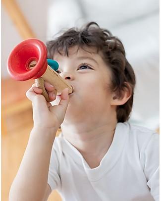 PlanToys Strumento Musicale Gioco Kazoo - Produce un Buffissimo Suono Ronzante! Strumenti Musicali