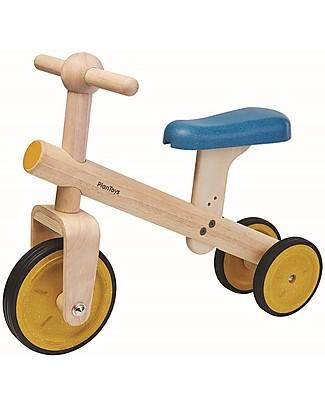 PlanToys Triciclo Equilibrio in Legno - Migliora l'equilibrio prima della bici! Biciclette Senza Pedali