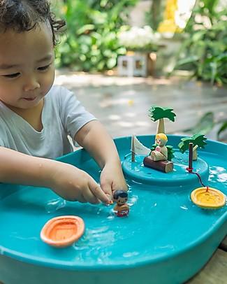 PlanToys Water Play Set - Incoraggia ad Inventare Storie Giochi all'Aperto