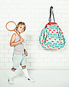 Play&Go Sacco Portagiochi e Tappeto 2 in 1 in cotone - Badminton by Bakker Made With Love Contenitori Porta Giochi